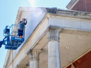 Building Pressure Washing Dallas TX | C & D Commercial Services