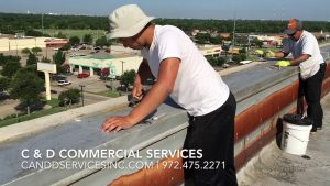 commercial caulking and sealing, C & D Commercial services