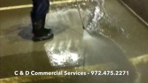 Pressure Washing in Dallas and Fort Worth by C & D Commercial Services, Inc.