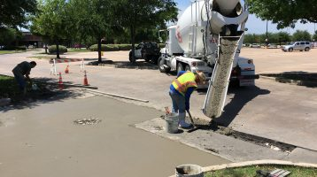 Concrete Repair Work in Rowlett, TX