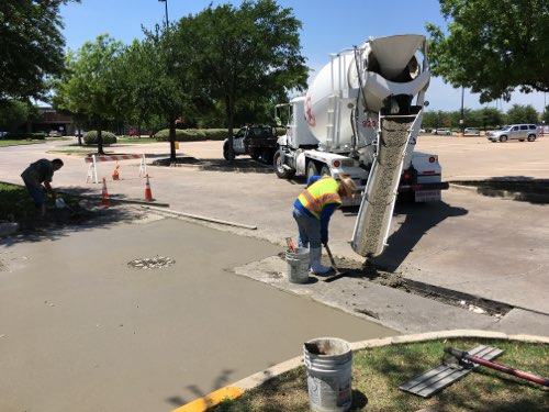 Concrete Repair in Dallas and Fort Worth | C & D Commercial Services