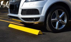 Plastic Wheel Stop Installation - C & D Commercial Services