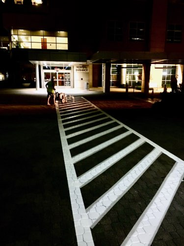 Parking lot striping in Dallas and Fort Worth by C & D Commercial Services