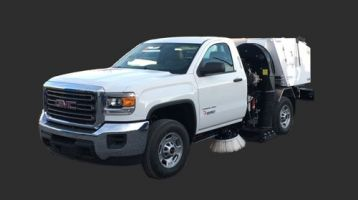 Parking Lot Sweeping in Dallas and Fort Worth - C & D Commercial Services