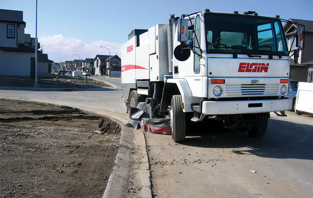 street sweeping and construction sweeping dallas, tx | C & D Commercial Services