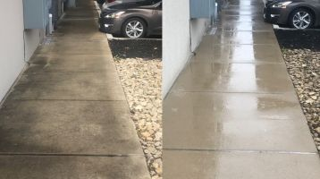 concrete cleaning dallas tx C & D Commercial Services
