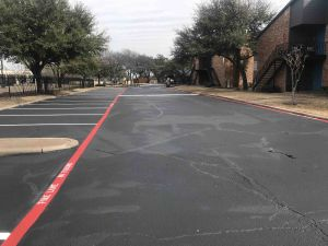 Asphalt Sealcoating Dallas TX C & D Commercial Services, Inc