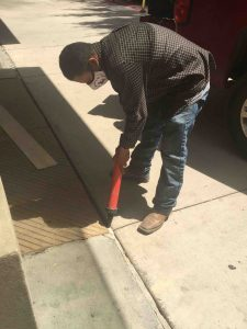 control joint caulking in Dallas and Fort Worth by C & D Commercial Services