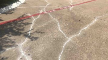 concrete crack sealing in dallas and fort worth | C & D Commercial Services